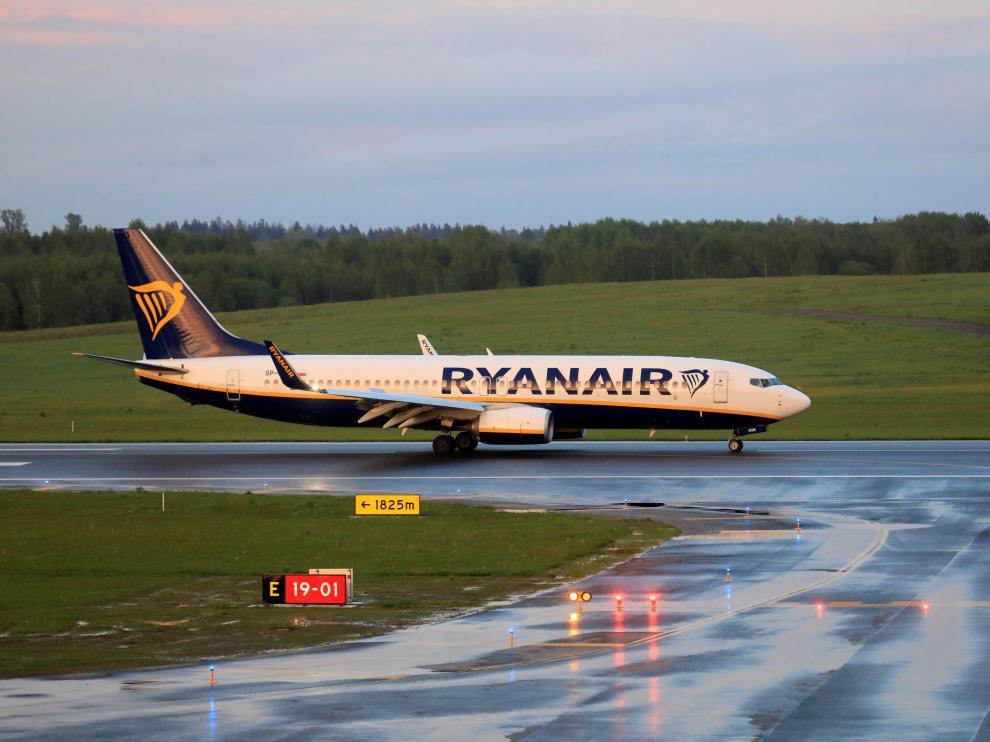 Ryanair Belarus bielorrusia Roman Protasevich