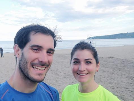 Le marathon de Varna