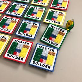 LEGO Master Builder badges