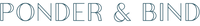 Ponder & Bind Logo
