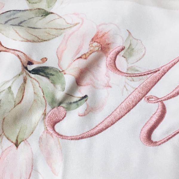 Embroidery closeup