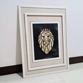 Geometric lion XL frame