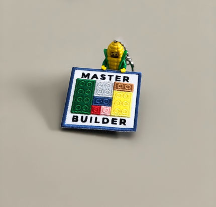 LEGO Embroidered Badge
