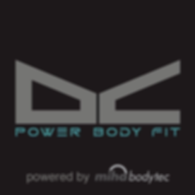 DC-power body fit | chalandri | miha | logo