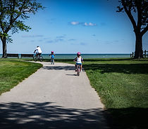 Geneva State Park is located directly on Lake Erie and offers tent & RV camping, cabins, hiking, biking, swimming, archery, hunting, fishing, boating, and welcomes your pets.  There's even wi-fi in select locations and winter recreation is available too.