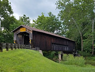 Many Covered Bridges Throughout Ashtabula County, in Northeast Ohio