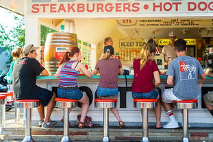 Eddie's is arguably the most famous restaurant in Geneva-on-the-Lake!  Enjoy 50s vibes and their famous foot-long hot dogs, cheeseburgers, Richardson Root Beer and more!  There's also a Dairy Queen, pizza, and arcade. Open daily, Memorial-Labor Day at 11am; weekends starting Mother's Day weekend.