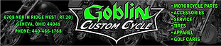 Goblin Custom Cycle is your one stop for service, tires, aftermarket parts and accessories for Motorcycles. Including Metric and American parts for any application. See us for your Custom Built Bike needs. We'll help you find any part for the do it yourself jobs. Give us a call, stop in, or send us an email with any questions.