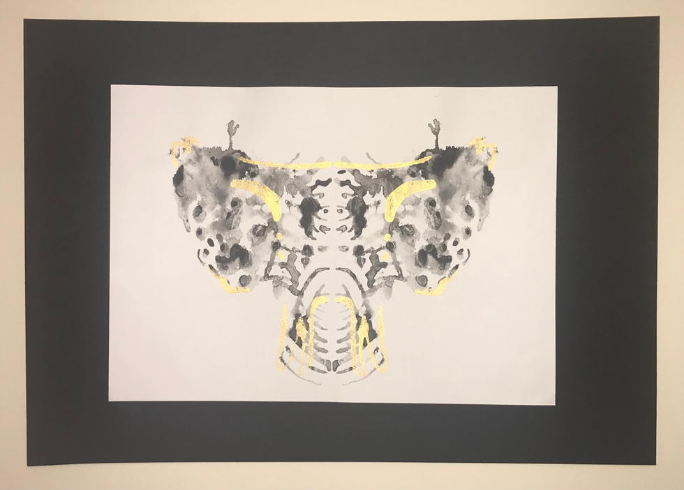 A Sphenoid Bone by Tsara Boakye
