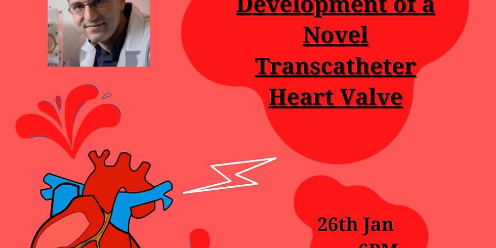 Development of a novel transcatheter heart valve