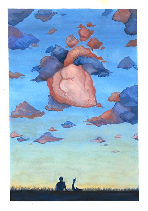 Cloud Watching by Anita Ravikrishnan