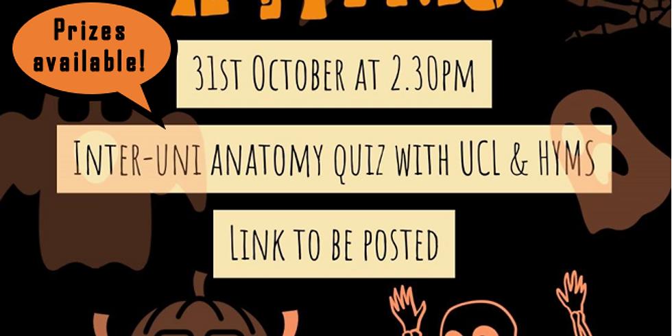 Inter-Uni Halloween pub quiz