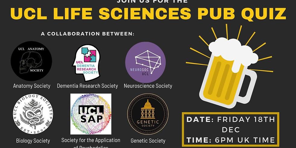 UCL Life Sciences Pub Quiz