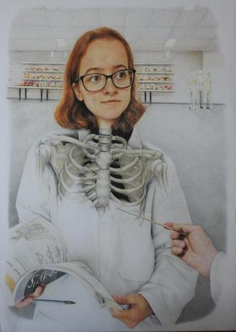 Anatomy lesson by Natasha Maitland-Davies