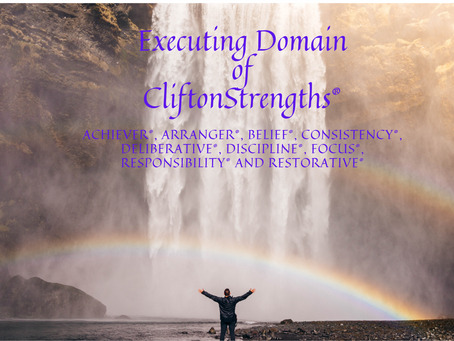 Executing Domain of CliftonStrengths®