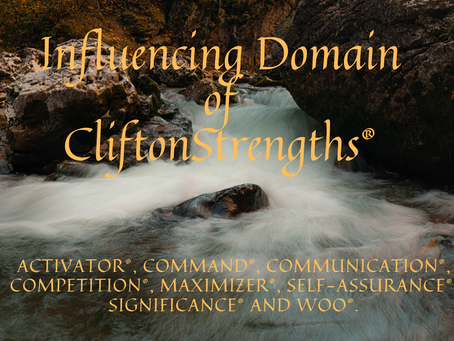 Influencing Domain of CliftonStrengths®