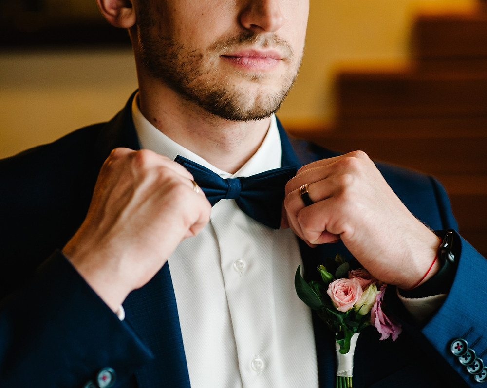 Men's Wedding Bow Tie