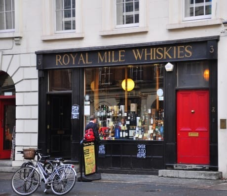 Royal Mile Whiskies, Bloomsbury Street, London