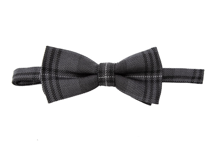Tartan Bow Tie Front View