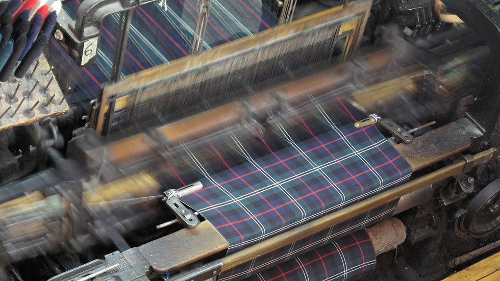 Tartan Fabric by the Metre