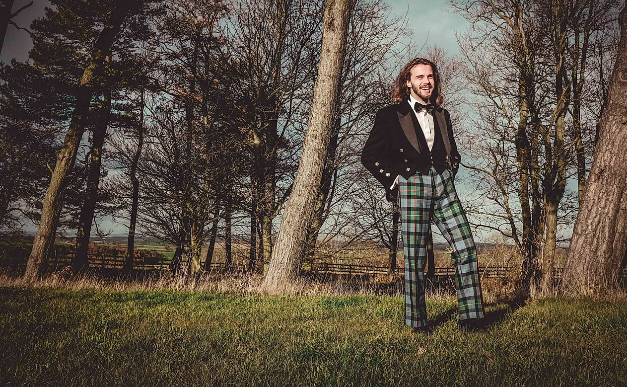 Tartan Trews. Made to Measure.
