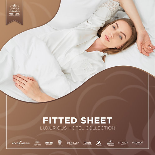 LUXURIOUS HOTEL FITTED SHEET