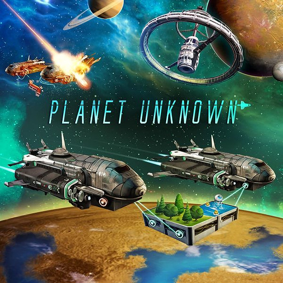 GAMA Game Night - Planet Unknown (6-8pm ET)