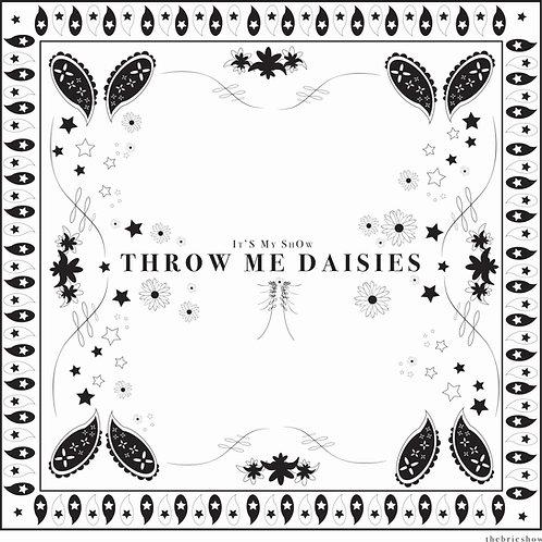 Throw Me Daisies Bandana