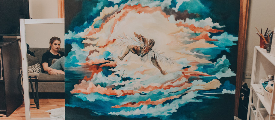 How an artist loves & Icarus