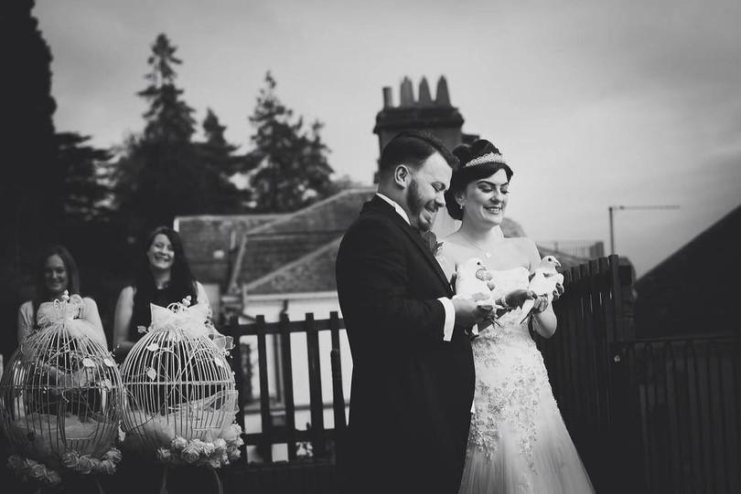 Hire White Doves for a wedding Bristol