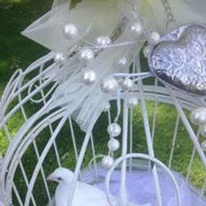 White Doves at a Wedding Rhondda Cynon Taff