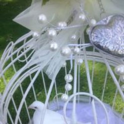White Doves at a Wedding Rhondda Cynon Taff