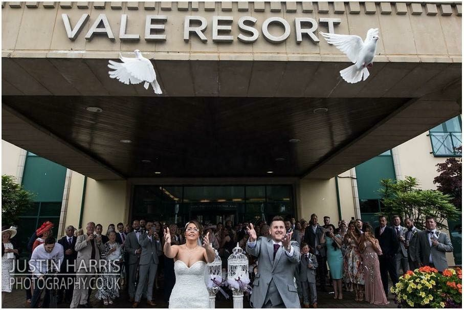 white dove release at The Vale Resort