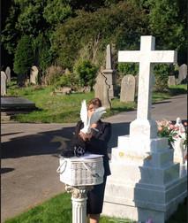 white doves for a funeral Glyntaff Pontypridd