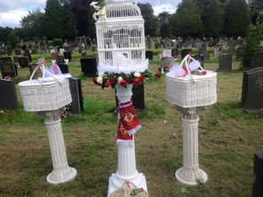 Dove release St Woolos Newport