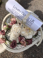 Doves in a basket for funeral