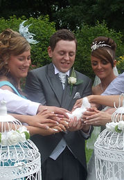 Surprise wedding gift of Doves Newport