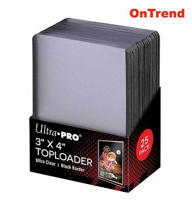 """Ultra Pro 3"""" X 4"""" Toploader (25 Pack)"""