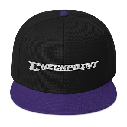 Checkpoint White - Snapback Hat