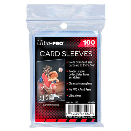 Ultra Pro Card Sleeves (Pack of 100)