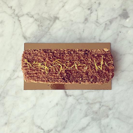 CAKE CITRON-AMANDE (6-8 PERSONNES) ✰