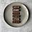 Thumbnail: BARRE FONDANTE CHOCOLAT - BEURRE DE NOISETTE NON CUITE (PAR 4)✰