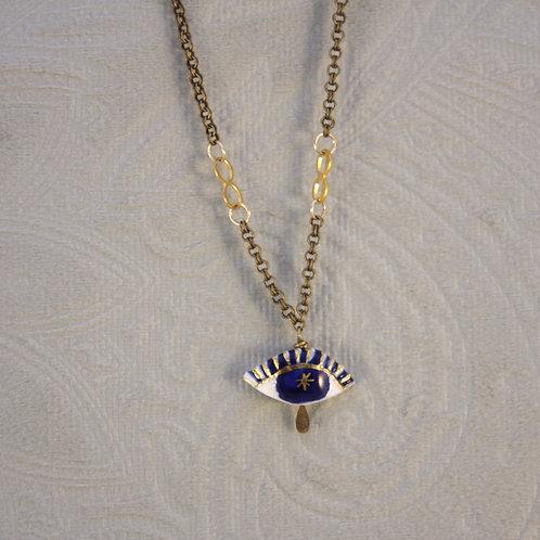 collier iris étoilée