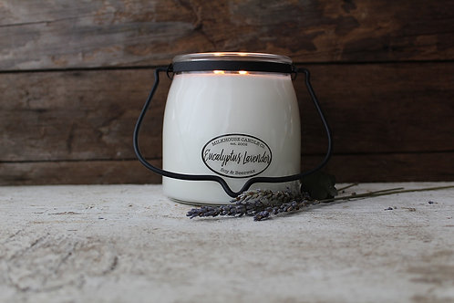 Milkhouse 16oz. Butter Jar - Eucalyptus Lavender