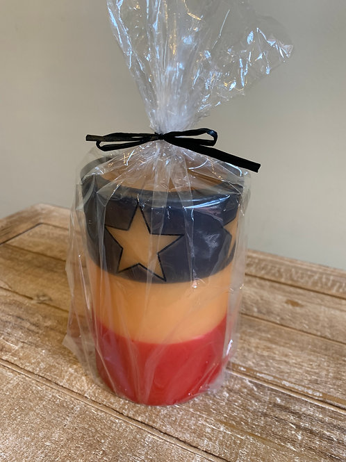 Candle Sleeve - Stars & Stripes Forever