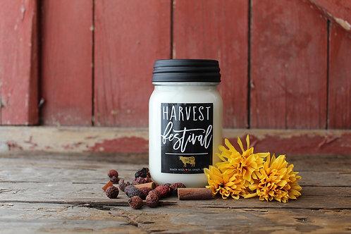 Farmhouse Mason Jar 13oz. - Harvest Festival