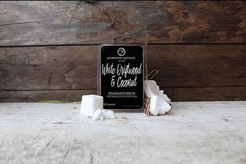 Milkhouse 2.5 oz. Melt - White Driftwood & Coconut