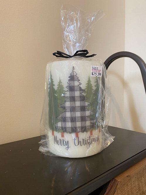 Merry Christmas Buffalo Tree