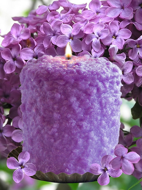 Hearth Candle - Lilac Blossom