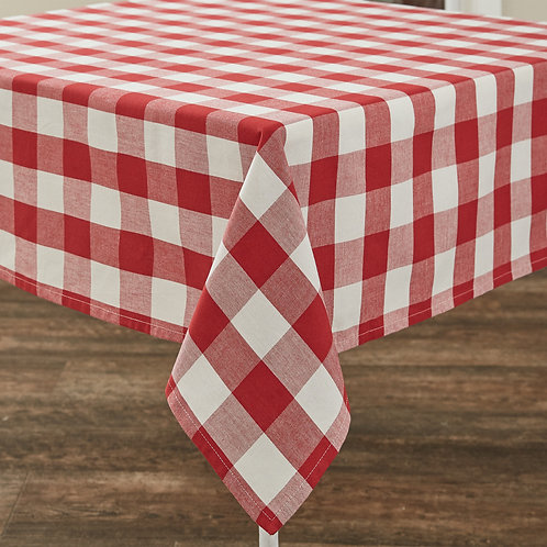 54x54 Table Cloth - Red&White